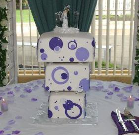The Square Wedding Cake Stand Perfect Straight By Cake