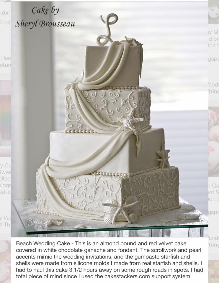 Cake Stackers™ Square Wedding Cake Stand Will Hold Up Under The Toughest  Conditions During Transport And Delivery.