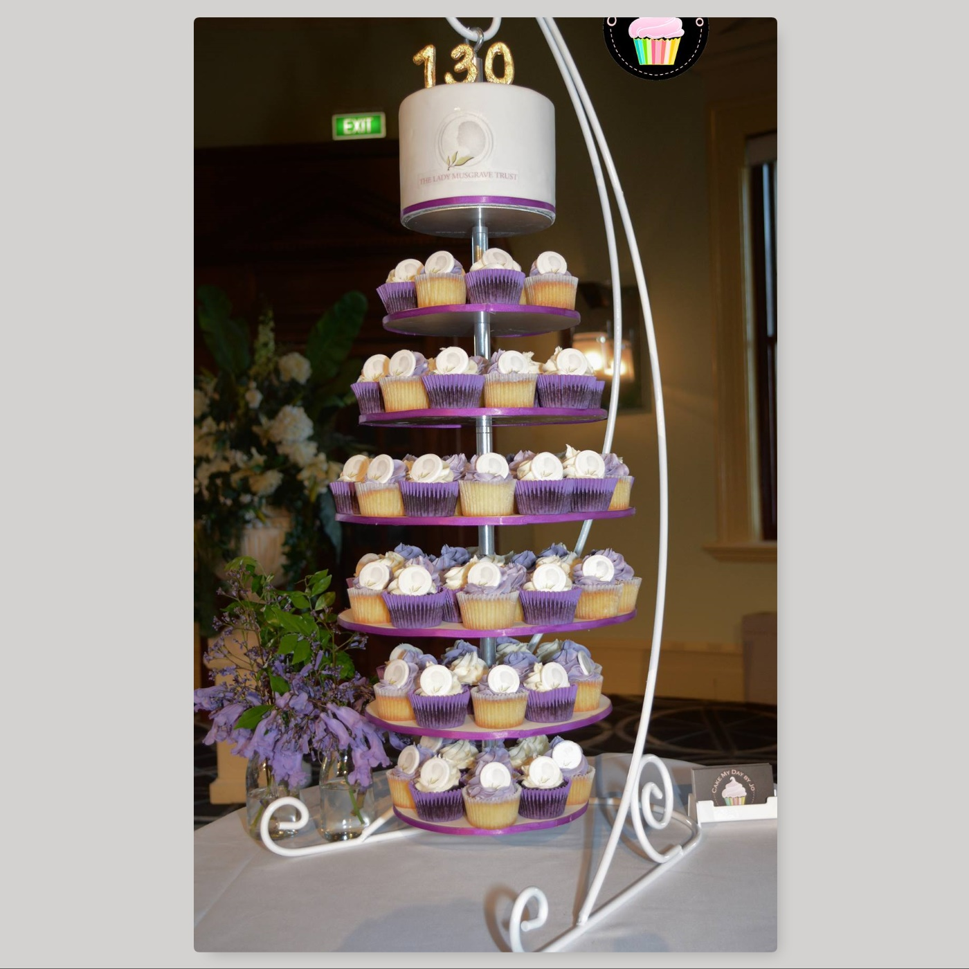 Adjustable Wedding Cupcake Stand Tiered By Cake Stackers