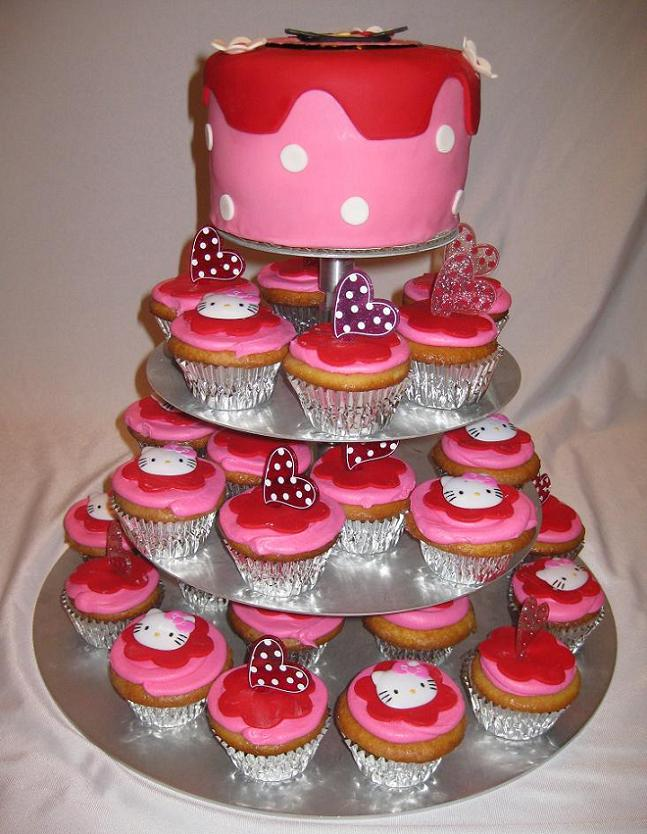 two tiered cake sizes