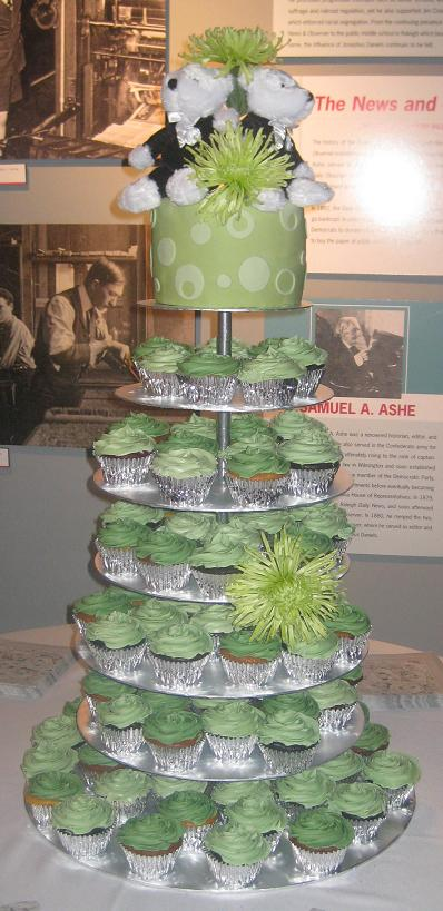 Wedding cupcake stands pictures to pin on pinterest