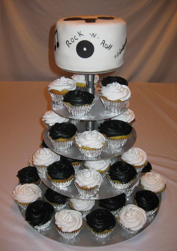 The Cake Stackers wedding cupcake stand is just one of many design