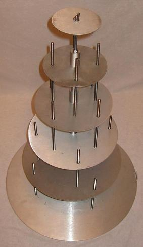 The Aluminuml Cake Stand Versatile Perfectly Straight By