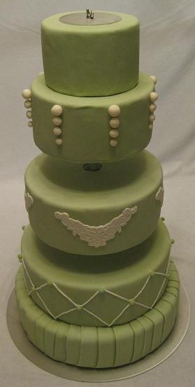pedestal cake stand image