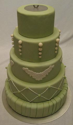 tall tier cake stand image