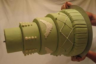 tiered cake stand image