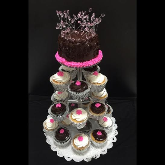 Adjustable Wedding Cupcake Stand Tiered By Cake Stackers™
